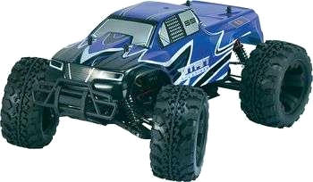1:10 EP Monstertruck eXtreme Brushless 4WD RtR