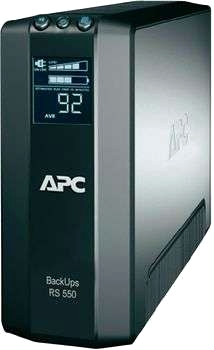 APC Pack UPS RS LCD 550 VA