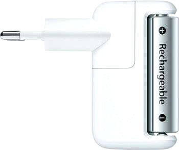 Apple-laddare inkl. 6 R6-batterier.