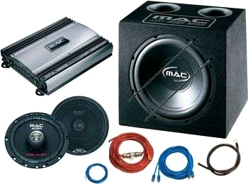 Mac Audio Flat four Power Package