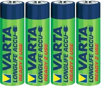 VARTA Power-batteri Ready2Use, 4-pack